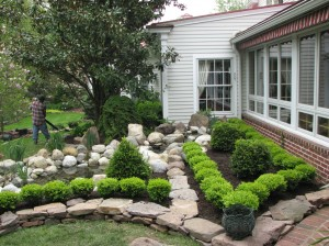 Garden Pond Design- Stone Creek Landscaping